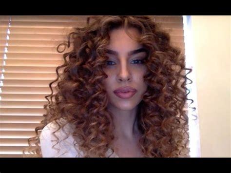 curly hair tutorial youtube