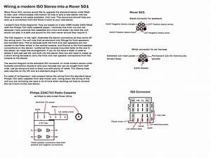 Rover Sd1 Headunit Install  U0026 Window Reg Replacement