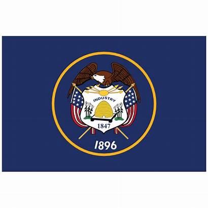 Utah Flag State Ut Sticker