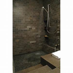 Roman Tubshower Modern Bathroom Other Metro By