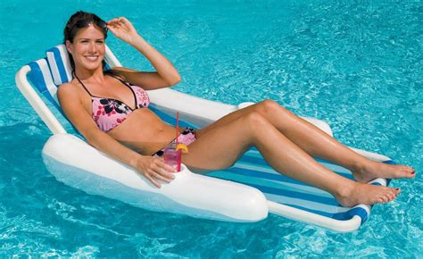 sunchaser sling floating pool lounge nt149