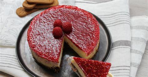 recette cheesecake au chocolat blanc  aux framboises