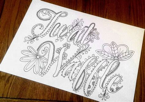 adult coloring books swear words artist creates hilarious sweary coloring book for adults