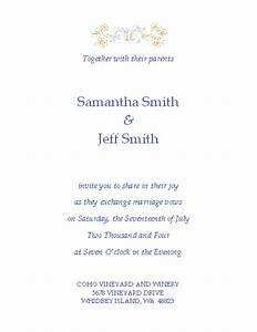 free wedding invitation templates microsoft word With wedding invitation templates for word 2013
