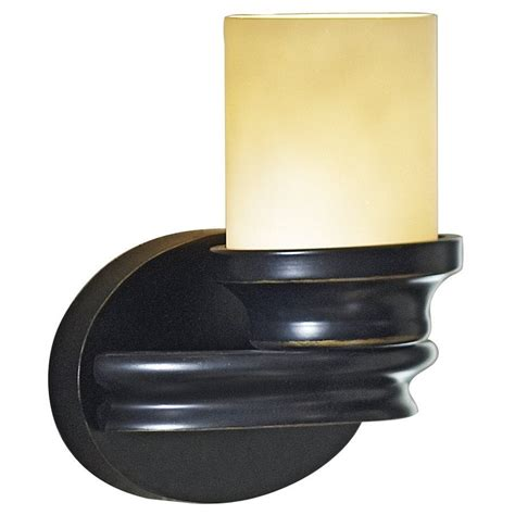 allen roth 1 light bronze arm sconce lowe s canada