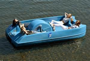 Pedal Boat Hyde Park by Uk Weather Sees Sun Worshippers Enjoy Day Of The