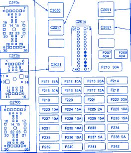 mercury sable  junction fuse boxblock circuit breaker diagram carfusebox