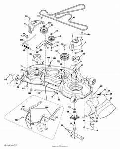 32 Husqvarna Gt2254 Drive Belt Diagram