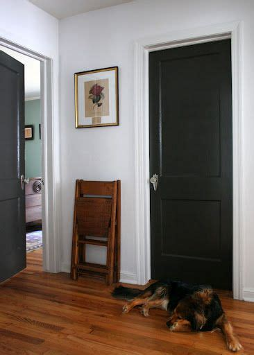 i am soo doing this in my house love black interior doors for the home in 2019 black