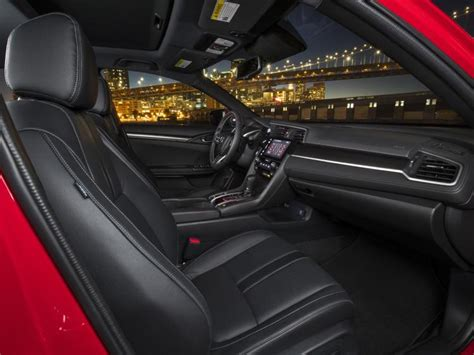 2017 Honda Civic Hatchback Black Interior