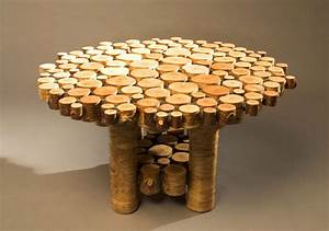 innovative and cool looking coffee table the log builders With cool outdoor coffee tables