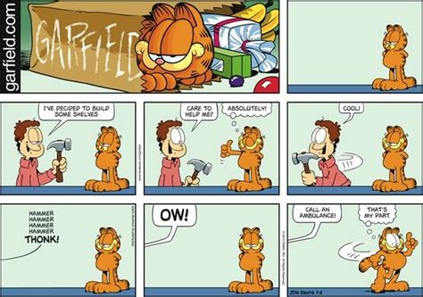 Garfield Comics, Comic And Comic Strips On Pinterest