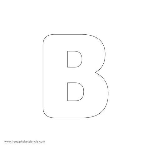preschool alphabet stencils freealphabetstencils 427 | preschool stencil b