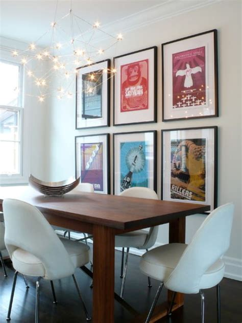 wall paintings for dining room how to decorate using posters 8884