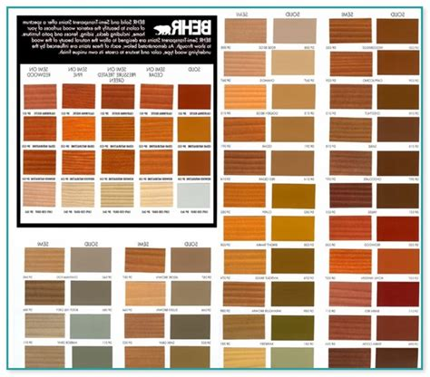 home depot behr deck stain colors