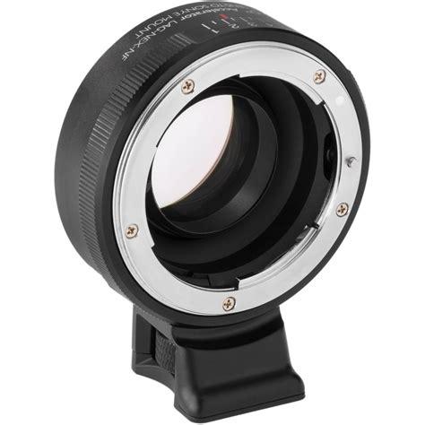 vello nikon f lens to sony e mount accelerator lag nex nf