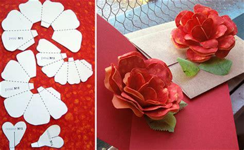 folding paper rose pattern paper crave