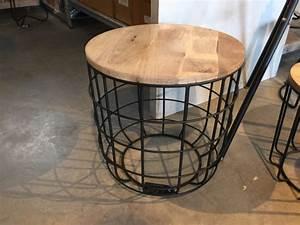 Couchtisch Rund Holz Metall : beistelltisch metall holz ~ Bigdaddyawards.com Haus und Dekorationen