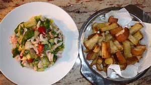 Spinat Als Salat : rezept spinat avocado krabben salat mit knoblauchcroutons ~ Orissabook.com Haus und Dekorationen