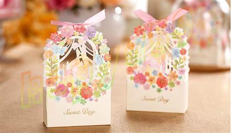 400pcs Romantic Wedding Gift Box Elegant Luxury Decoration