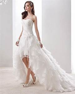 popular plus size high low wedding dresses buy cheap plus With high to low wedding dress