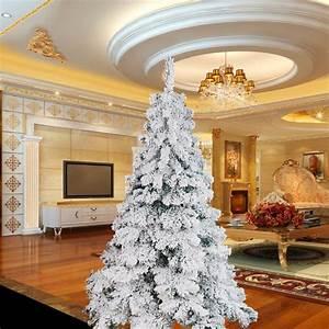 Luxury 1 8m 6ft Flocking Christmas Tree