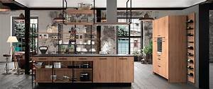 Cuisine Style Industriel Bois : esquisse design ind cuisines morel ~ Teatrodelosmanantiales.com Idées de Décoration