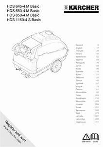 Karcher Hds 755 Manual