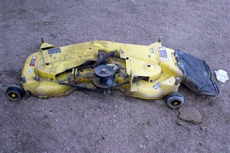 john deere jd 48 quot mower deck used good condition nex