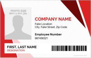 horizontal vertical design id card templates