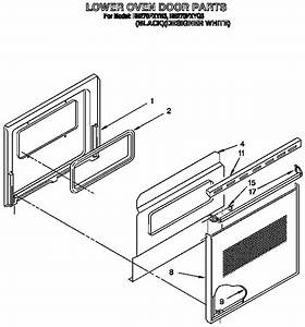 Whirlpool Rb270pxyq3 Electric Wall Oven Parts