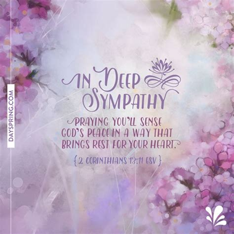 Condolences Greeting Card Templates by Sympathy Cards Gifts Dayspring