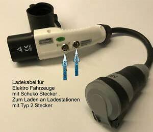 Typ 2 Auf Schuko Adapter : renault twizy ladekabel 16 a typ 2 auf schuko adapter f ~ Kayakingforconservation.com Haus und Dekorationen