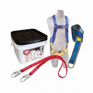 Protecta 2199810 Fall Protection Kit Includes Harness