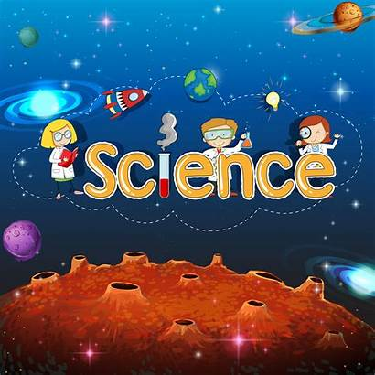 Science Banner Planet Template Clipart Resources Vector
