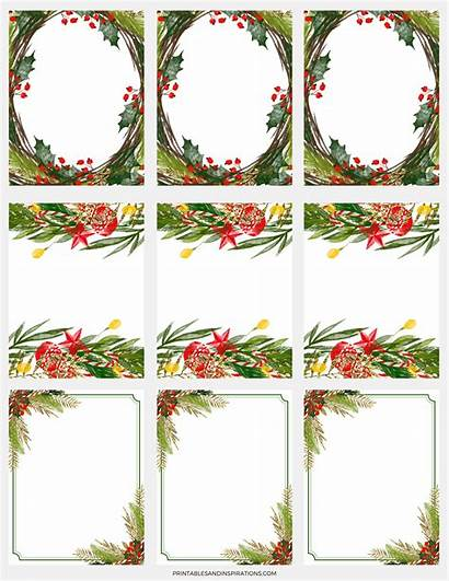 Christmas Stickers Paper Gift Tags Decorations Digital