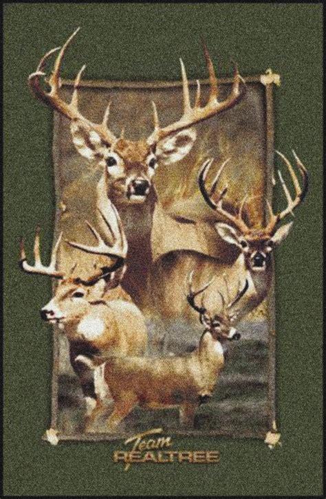 deer area rug realtree deer border camouflage area rug