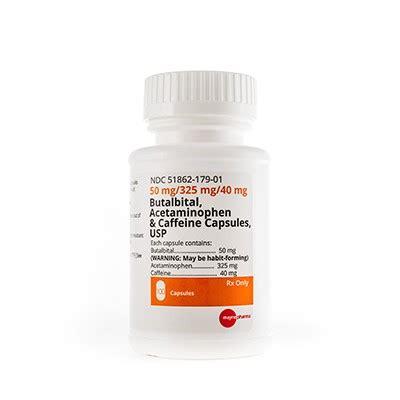 Butalbital  Apap  Caffeine Capsules