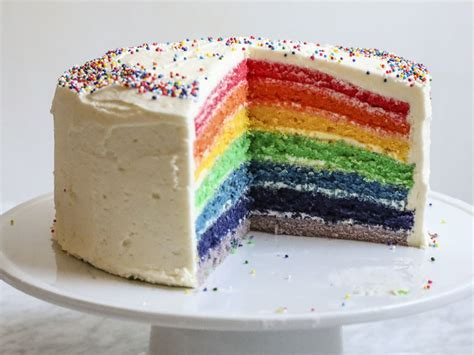rainbow cake recipe anna painter food wine