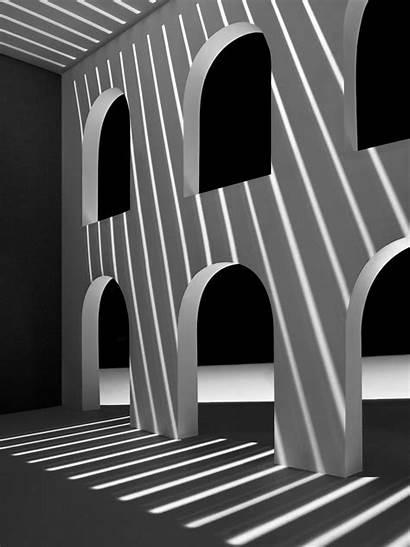 Shadow Architecture Paper Spaces Buildings Owen Gildersleeve