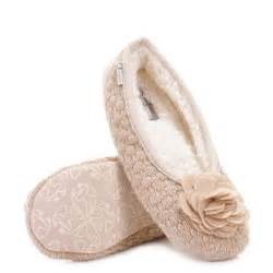 womens bedroom athletics charlize fleece knit slipper shoes size ebay