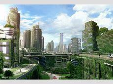 Eco city by zearz on DeviantArt