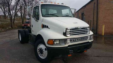 sterling freighliner single axle day cab hauler acterra