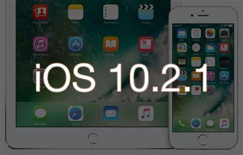 apple udostępnia finalną wersję ios 10 2 1 thinkapple