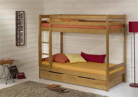 acheter votre vos lits superpos 233 s pour couchage en70 80 90 x 190ou 200 cm chez simeuble