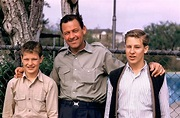William Holden with sons Scott and Peter 1960's | William ...