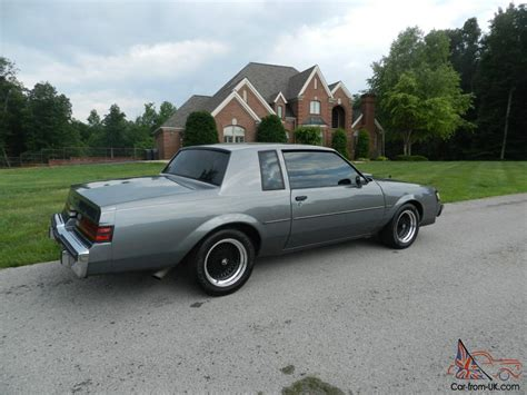 Buick Turbo Regal by 1987 Buick T Type Turbo Regal Gn Gnx Grand National Show