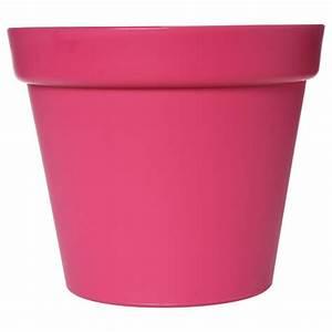 Pot Fleur Plastique : pot de fleurs plastique ansania 58cm rose ~ Premium-room.com Idées de Décoration