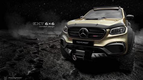 Mercedes has built trucks for years, but this is its first pickup truck. Mercedes-Benz X-Class 6x6 Pickup Truck Incoming - autoevolution