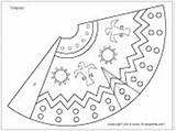 Teepee Pattern Printable Native Coloring American Tipi Crafts Thanksgiving Teepees Template Preschool Indian Pages Templates Patterns Theme Paper Diy Kindergarten sketch template